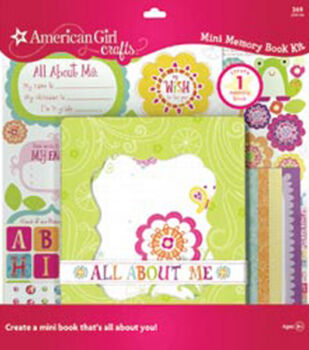 American Girl Crafts Mini Memory Book Kit Friends