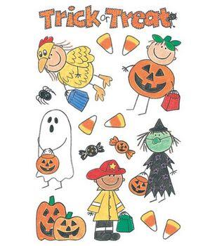 me & my BiG Ideas Minis Stickers-Halloween Kids