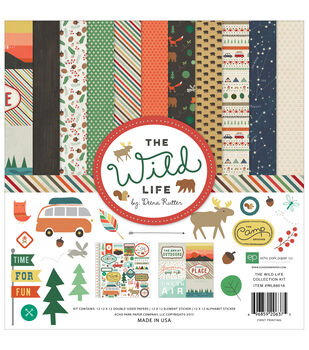 Echo Park Paper Company™ Collection Kit-The Wild Life