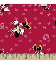 Disney® Minnie Mouse Print Fabric-Giggles, , hi-res