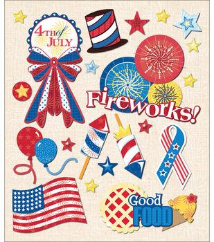 Sticker Medley-4th Of July