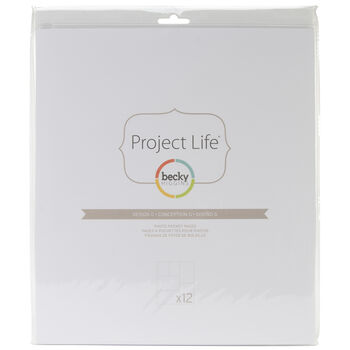 American Crafts Project Life Photo Pocket Pages Design G