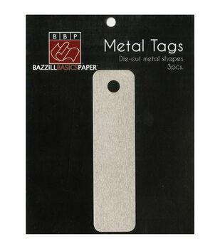 Bazzill Basics Paper Designer Metal Tags