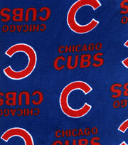 Chicago Cubs MLB  Ultra Fluffy Fleece Fabric, , hi-res