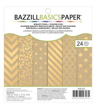 Bazzill Basics Paper Pad 6''x6''