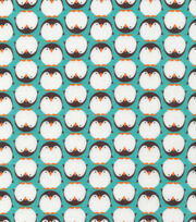 Cloud 9 Premium Cotton Fabric-Dolittles Penquin Green, , hi-res