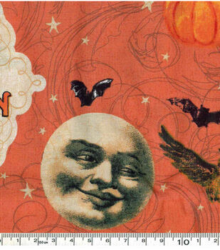 Halloween Cotton Fabric-Bewitching Halloween