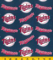 Minnesota Twins MLB Cotton Fabric, , hi-res
