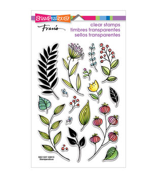 Stampendous® Perfectly Clear Stamps-Fronds