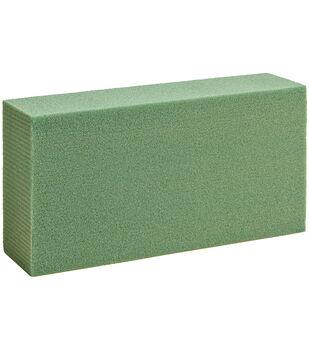 """Dry Foam Block 1.875""""X11.875""""X17.875"""" Bulk-Green"""