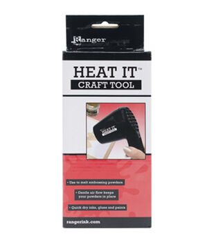 Shop for embellishment tools tools machines products for Ranger heat it craft tool