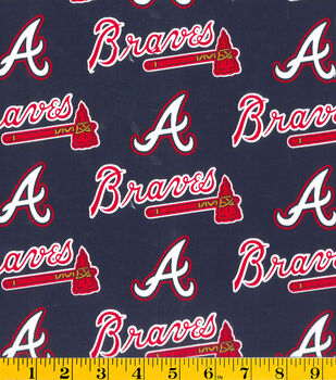 Atlanta Braves MLB Cotton Fabric