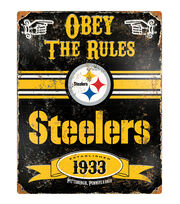 Pittsburgh Steelers NFL Vintage Sign, , hi-res