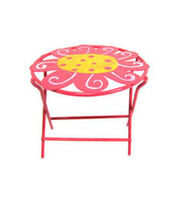 Fairy Garden Metal Table-Daisy, , hi-res