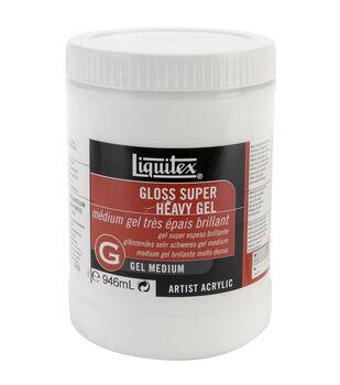 Liquitex Super Heavy Gloss Gel Medium-32 Ounces