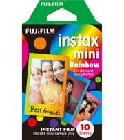 Fujifilm Instax Mini Rainbow Instant Film, , hi-res