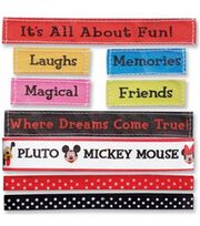 Mickey Ribbons & Adhesive Labels 9-Piece Set, , hi-res