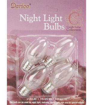 Darice Night Light Bulbs-4Pk
