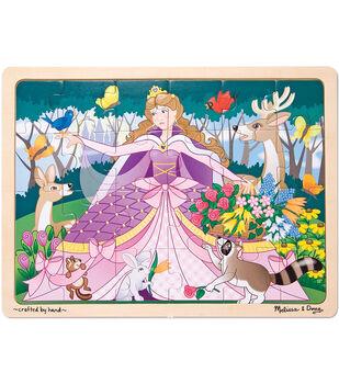 Melissa & Doug Woodland Princess Jigsaw 24pc