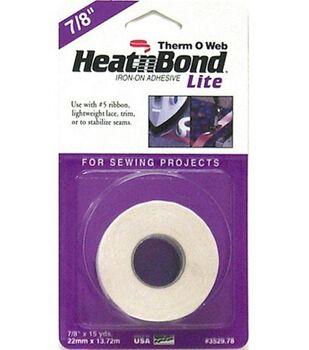 Heat'n Bond Lite Iron-on Adhesive Tape- 10yds