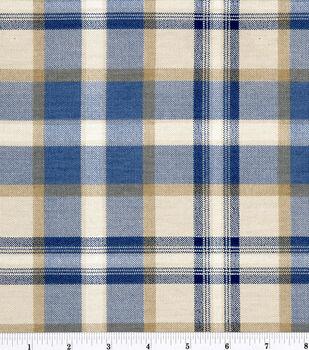 """45"""" Home Essentials Print Fabric-Ethan/Indigo"""