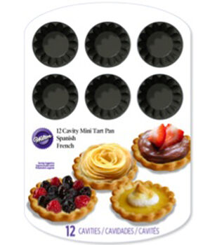 Wilton® Mini Tart Pan-12 Cavity