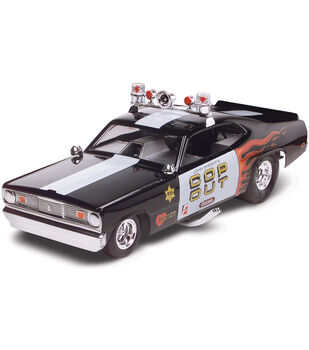 Revell Plymouth Duster Cop Out Car Plastic Model Kit