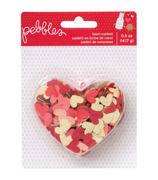 We Go Together Confetti .5oz-Hearts