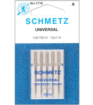 Schmetz Universal Machine Needles 5/Pk-Size 11/75
