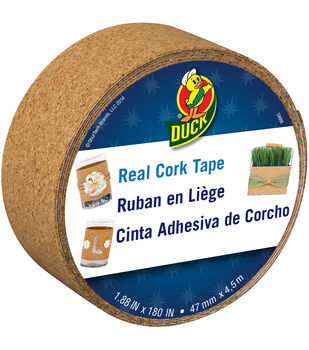 """Duck® Real Cork Tape 1.88""""x15ft"""