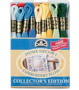 DMC Embroidery Floss Pack-Home Decor 36/PK