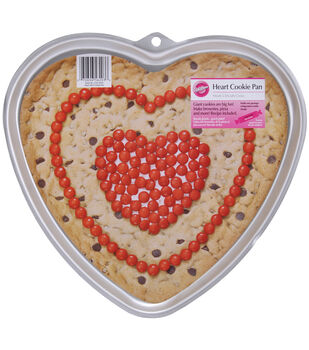 "Wilton® Giant Cookie Pan-Heart 11.5""X10.5""X.75"""