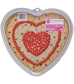 """Wilton® Giant Cookie Pan-Heart 11.5""""X10.5""""X.75"""""""