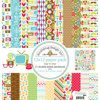 Doodlebug Day To Day Paper Pack