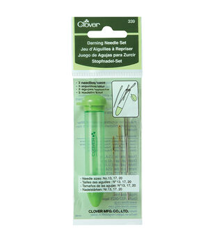 Clover Chibi  Darning Needle Set 3/pkg