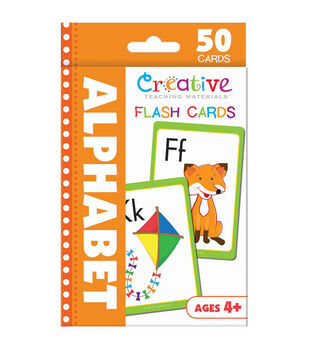 Creative Teaching Materials 50ct Flash Cards-Alphabet