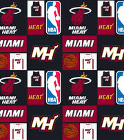 Miami Heat NBA  Cotton Fabric, , hi-res