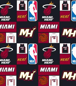 Miami Heat NBA  Cotton Fabric