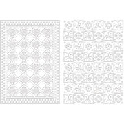 Spellbinders M-Bossabilities Embossing Folder Diamond Fleur De Lis, , hi-res