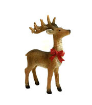 Maker's Holiday Resin Reindeer Figurine, , hi-res