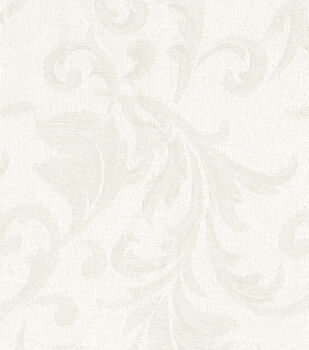 Signature Series Solid Jacquard Fabric-Ivory