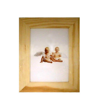 5x7 Wood Picture Frame Stright Edge