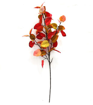 Blooming Autumn 32'' Eucalyptus Stem-Red
