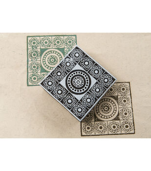 Blockwallah Block Stamp-Maharaja