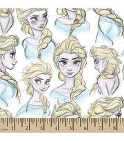 Disney® Frozen Elsa Sketch Cotton Fabric, , hi-res