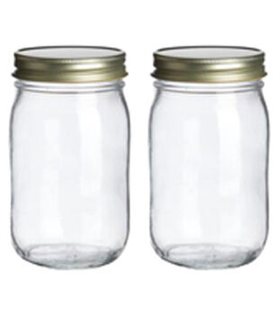 Art-C Mini Glass Mason Jars