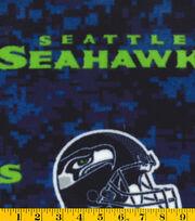 Seattle Seahawks NFL Digital Fleece Fabric, , hi-res