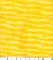 Keepsake Calico™ Cotton Fabric-Small Stripe Bright Yellow, , hi-res