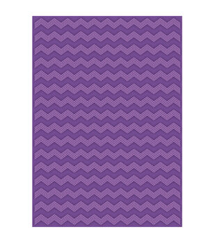 Teresa Collins Dotted Chevron Embossing folder by Craftwell