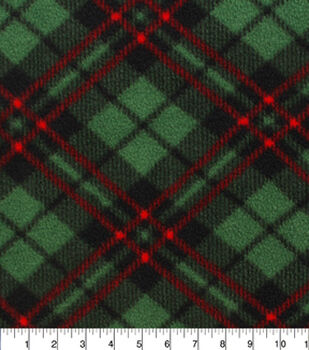 Anti Pill Fleece Fabric-Macintosh Plaid Xj